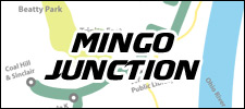 Mingo Junction Route Map