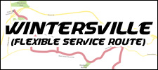 Wintersville Flexible Route Map